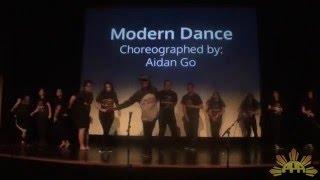 Modern Dance | Barrio Fiesta 2016 |  Balikbayan: Back to Barrio