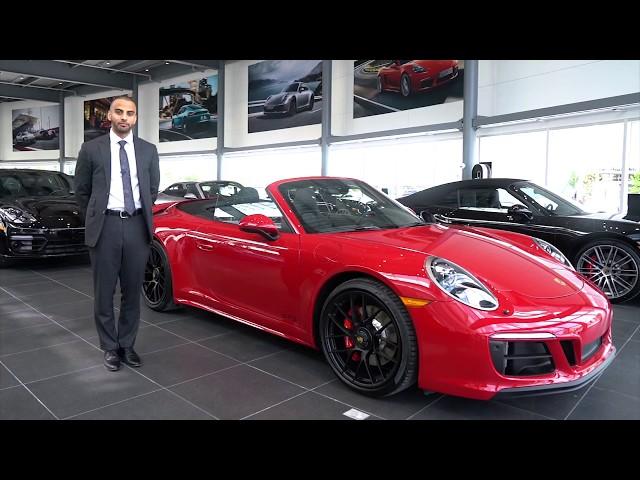 New Porsche 911 Carrera 4 GTS Cabriolet at Porsche Centre North Toronto