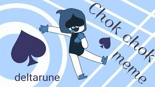 Chok chok •meme• | Lancer | deltarune ♠