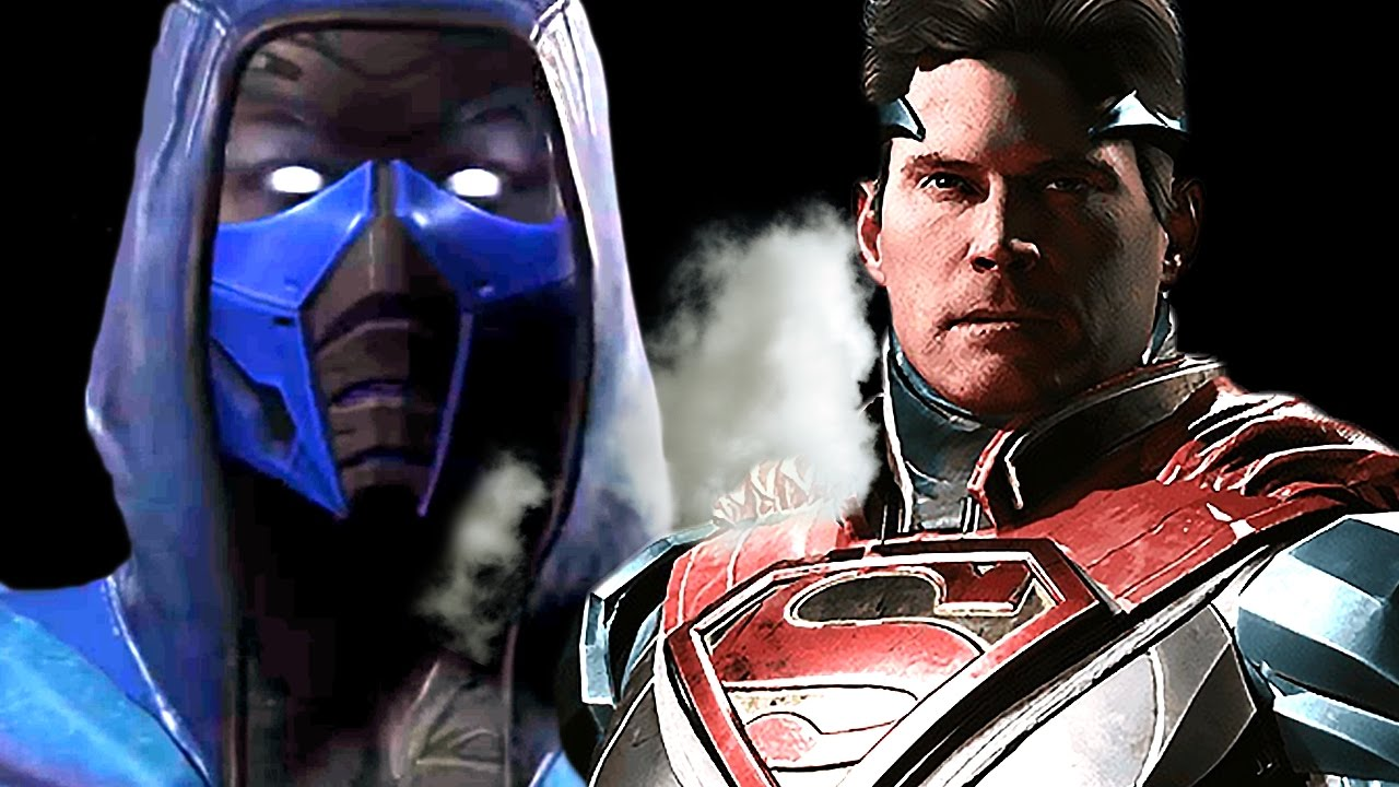 Injustice 2 All Trailers | Mortal Kombat's Sub Zero Character & More (2017)
