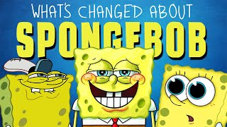 How The Design Of Spongebob Has Changed Over The Years