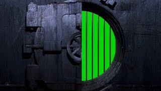 4K Door Open Vault Bank Intro Green Screen Footage Free Download