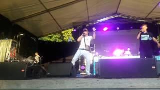 Bedoes - Biały i młody Live Koncert Rap Stacja Wolsztyn 2017