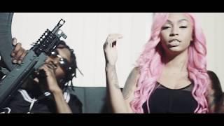 Joseph McFashion Feat. Molly Brazy x Cuban Doll x AllStar JR x FMB DZ - Raw (Official Music Video)