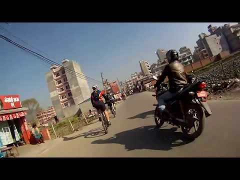 Through Katmandu by Bike