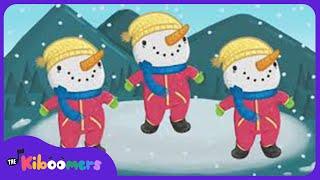 Winter Hokey Pokey  | Winter Songs for Kids | The Kiboomers