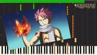 Fairy Tail Opening 3 - Ft. (Piano Tutorial) [Synthesia] EASY