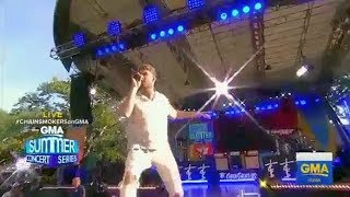 "The Chainsmokers ""Sick Boy"" live in Central Park"