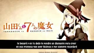 Yamada Kun To Nananin No Majo   Opening  FULL  Español Latino   Kuchikuze Diamond