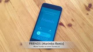 Friends Ringtone (Justin Bieber & BloodPop Tribute Marimba Remix Ringtone) • For iPhone & Android