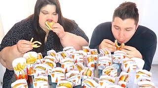 White Castle 9,660 Calorie Challenge (Completed) • MUKBANG