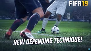 FIFA 19 NEW DEFENDING TECHNIQUE! GAME CHANGING WAY TO DEFEND in FIFA 19 ULTIMATE TEAM