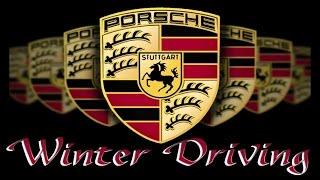 Porsche Winter Driving BanginAx 'Crack Rocks' Instrumental Video