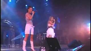 Lasgo Vs Ian Van Dahl  - Surrender (Live At Planet Pop Brazil 2006)