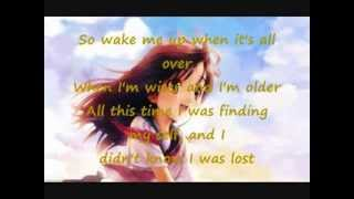 Nightcore - Wake me up (Avicii) [Lyrics]