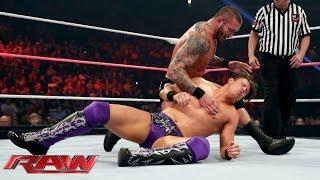 The Miz vs. Randy Orton: Raw, Oct. 14, 2013