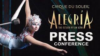 Alegría | BEST Moments Announcing the Return of an Icon | Cirque du Soleil