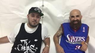 RBTV: Mundo Segundo e Sam The Kid após o concerto no festival O Sol Da Caparica