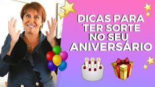 Dica especial para o dia do Aniversário por Márcia Fernandes