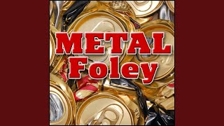 Metal, Vibrate - Hollow Sheet Metal Wall: Heavy Rub and Vibration, Metal Foley, Crackle, Rattle...