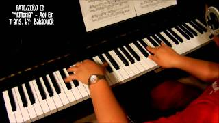Fate/Zero - Memoria (piano)