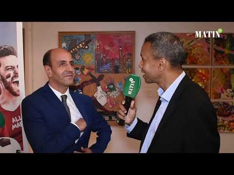 Video : Le trophée de la CAN fait escale à l'Espace d'Art Actua à Casablanca