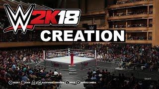 Detalles del sistema de creación de WWE 2K18