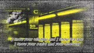 "Tom Waits - ""Downtown Train"" (Lyrics on Screen)"