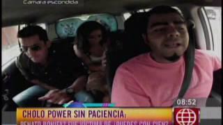 Cholo Power sin Paciencia   Renato Bonifaz fue victima de Puedes con Cien