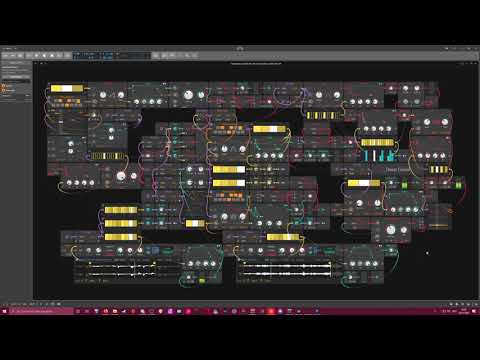 Generative-2020-01-28- Deep Growl - Bitwig Studio #Gridnik #Ambient