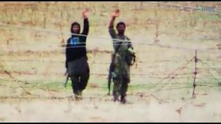 ISIS and the Turkish Army Exposed Working Together التنسيق بين عناصر من داعش والجنود الأتراك