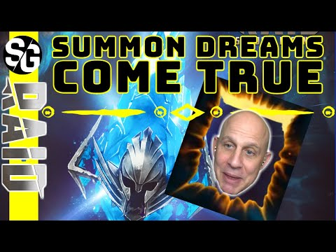 RAID SHADOW LEGENDS | SUMMON DREAMS COMING TRUE!