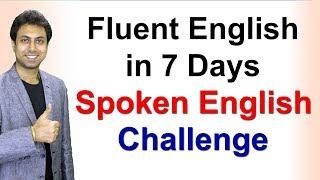How to Speak Fluent English in 7 Days   Speaking Fluently   Awal