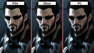 Deus Ex: Mankind Divided Graphics Comparison PS4 vs. Xbox One vs. PC