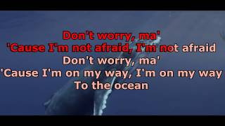 Alok, Zeeba and IRO - Ocean (Karaokê Versão Original)