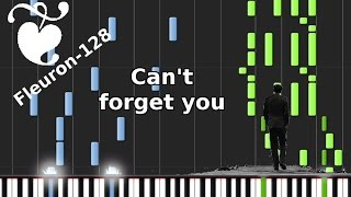 'Can't forget you' by 'San Holo feat. The Nicholas' - Synthesia