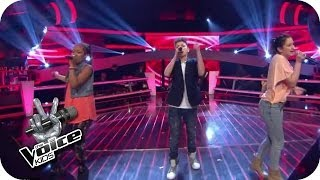 Naughty Boy feat. Emeli Sande - Lifted (Naomi, Selma, Lukas)   The Voice Kids 2014   BATTLE   SAT.1