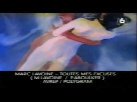 Chere Amie Toutes Mes Excuses de Marc Lavoine Letra y Video