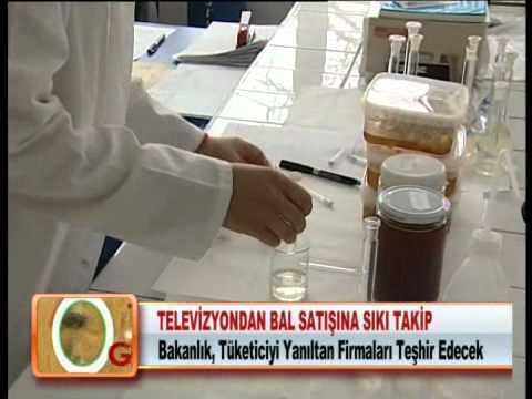 TELEVİZYONDAN BAL SATIŞINA SIKI TAKİP 24.01.2012