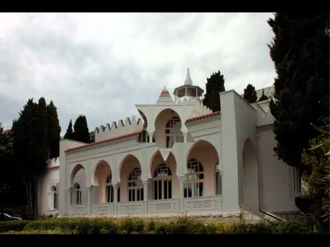 Дворец Кичкинэ,Крым,Украина. Kichkine Palace,Crimea,Ukraine .avi