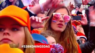 Tiësto & Hardwell on 538 Koningsdag 27.04.2016 Het Wilhelmus/Adagio for Strings