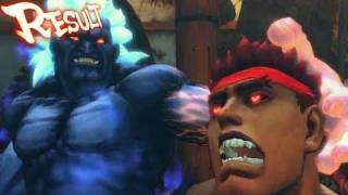 Street Fighter 4 Arcade Edition: Oni vs Evil Ryu Trailer