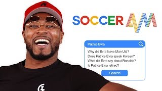 Patrice Evra Answers the Web's Most Searched Questions About Him | Autocomplete Challenge