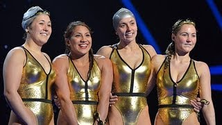 Aquabatique water ballet - Britain's Got Talent 2012 Live Semi Final - UK version