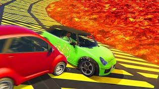 WORLDS MOST BRUTAL MEGA CAR DERBY! (GTA 5 Funny Moments)
