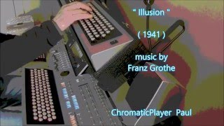 ILLUSION - keyboard organ Tyros (chromatic)