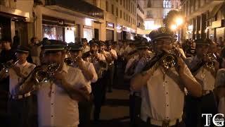 Pasacalles de la Banda de la Centuria Romana Macarena en Víspera de San Fernando 2018