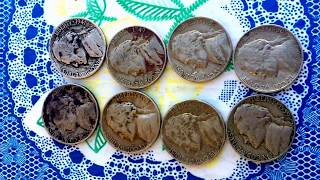 USA COINS 5CENT 1941 TO 1960