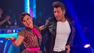 Dani Harmer & Vincent Simone Jive to 'Dance With Me Tonight' - Strictly Come Dancing 2012 - BBC One