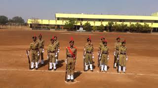 BVB NCC Bidar Karnataka  . Rifle drill width=